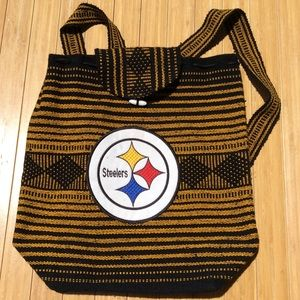 Other - Vintage Steelers Satchel Backpack Bag